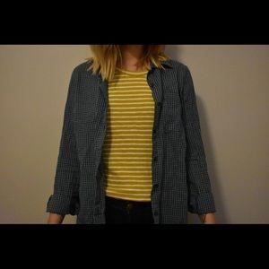 Button-up shirt.